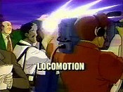 Locomotion Cartoon Picture