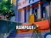 Rampage Cartoon Picture