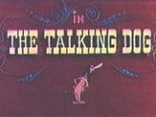 The Talking Dog Cartoon Character Picture