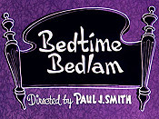 Bedtime Bedlam Cartoon Picture