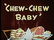 Chew-Chew Baby Free Cartoon Picture