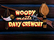 Woody Meets Davy Crewcut Cartoon Picture