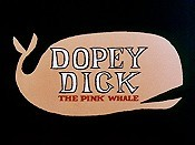 Dopey Dick The Pink Whale Cartoon Pictures