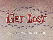 Get Lost Cartoon Picture