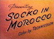 Socko In Morocco Free Cartoon Picture