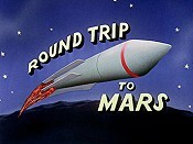 Round Trip To Mars Cartoon Picture