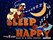Sleep Happy Cartoon Character Picture