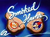 Smoked Hams Cartoon Character Picture