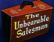 The Unbearable Salesman Cartoon Picture