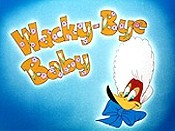 Wacky-Bye Baby Free Cartoon Picture