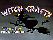 Witch Crafty Cartoon Picture