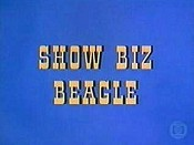 Show Biz Beagle Cartoon Character Picture