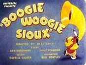 Boogie Woogie Sioux Free Cartoon Picture