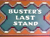 Buster's Last Stand Free Cartoon Picture