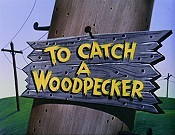To Catch A Woodpecker Cartoon Picture