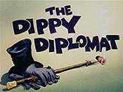 The Dippy Diplomat Free Cartoon Picture