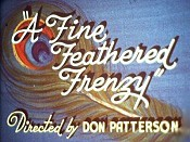 A Fine Feathered Frenzy Cartoon Picture