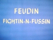 Feudin Fightin-N-Fussin Cartoon Character Picture
