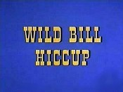 Wild Bill Hiccup Free Cartoon Picture