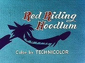 Red Riding Hoodlum Picture Into Cartoon
