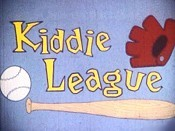 Kiddie League Picture Into Cartoon
