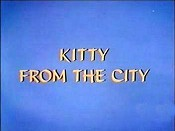 Kitty From The City Picture Of The Cartoon