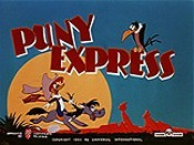 Puny Express Cartoon Character Picture