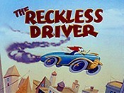 The Reckless Driver Cartoon Picture