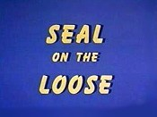 Seal On The Loose Free Cartoon Picture