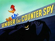 Under The Counter Spy Cartoon Picture