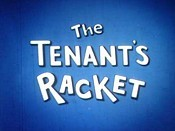 The Tenant's Racket Cartoon Picture