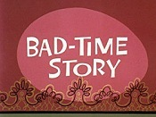 Bad-Time Story Picture Into Cartoon