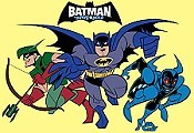 The Super-Batman of Planet X! Cartoon Picture