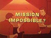 Is This Mission Impossible? Cartoon Picture