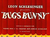 Leon Schlesinger Presents Bugs Bunny Picture Of Cartoon