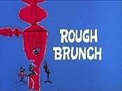 Rough Brunch Picture Into Cartoon