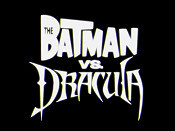 The Batman Vs. Dracula Picture Into Cartoon