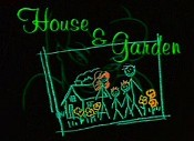 House And Garden Cartoon Picture