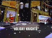 Holiday Knights Cartoon Picture
