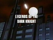 Legends Of The Dark Knight Picture Of Cartoon