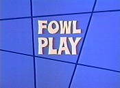 Fowl Play Picture Of Cartoon