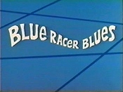 Blue Racer Blues Picture Into Cartoon