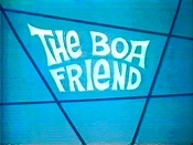 The Boa Friend The Cartoon Pictures
