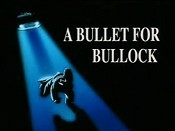 A Bullet For Bullock Cartoon Picture