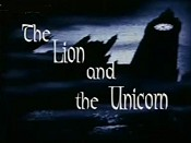 The Lion And The Unicorn Cartoons Picture