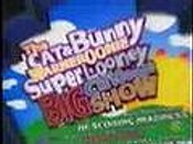 The Cat & Bunny Warneroonie Super Looney Big Cartoonie Show Cartoon Character Picture