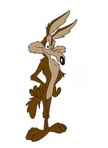 Wile E. Coyote Picture To Cartoon