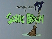 Sonic Broom Cartoon Picture