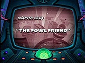 The Fowl Friend Picture Into Cartoon
