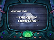 The Green Loontern Cartoon Picture